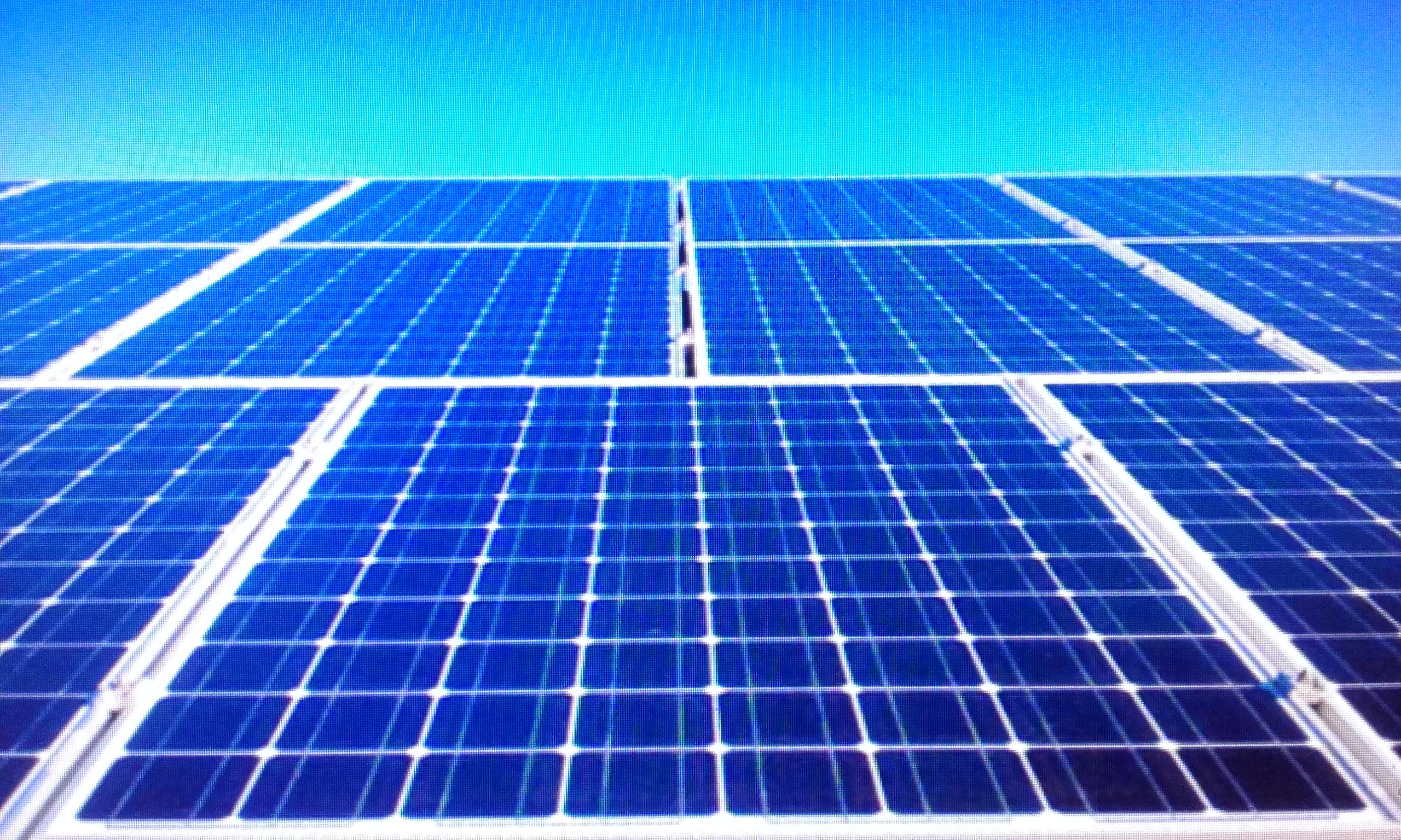 matriz fotovoltaica