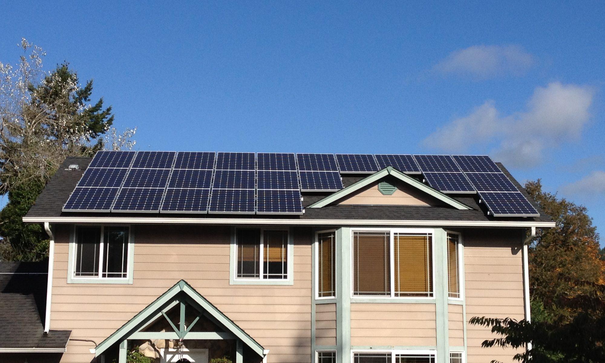 C mo elegir los paneles solares para una casa energ a - Paneles solares para abastecer una casa ...
