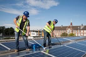 Limpieza Y Mantenimiento De Paneles Solares Consejos