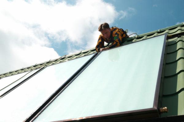Instalar un Calentador de Agua Solar