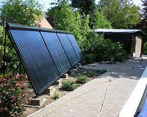 Colector Solar para Piscina