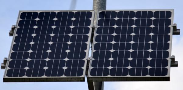 Panel solar monocristalino