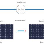 POTOVOLTAIC SOLAR PANELS CONNECTION
