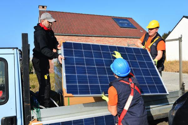 Como alimentar una casa con energia solar