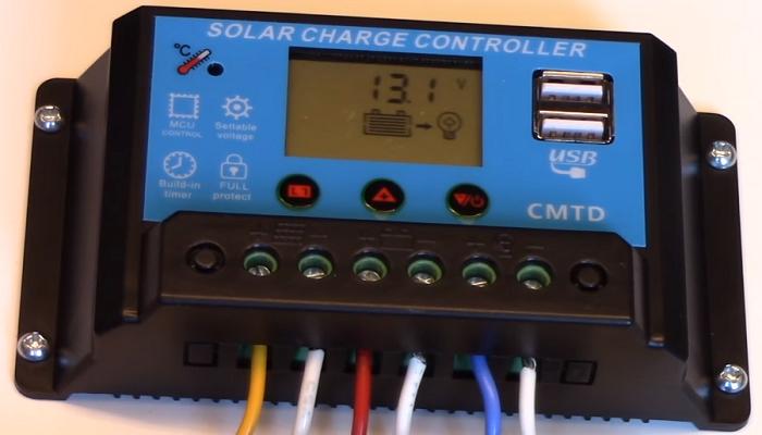 Cómo funciona un controlador de carga solar