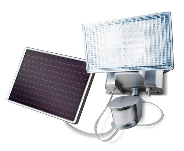 iluminación solar con paneles solares